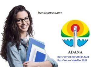 Adana Burs Veren Kurumlar