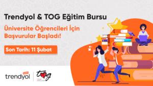 Trendyol TOGVakfi 1500TL Burs Basvurusu