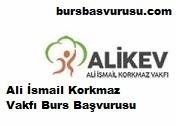 Ali Ismail Korkmaz Vakfi Burs Basvurusu