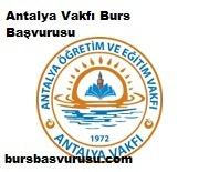 Antalya Vakfi Burs Basvurusu