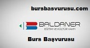 Baldaner Vakfi Burs Basvurusu